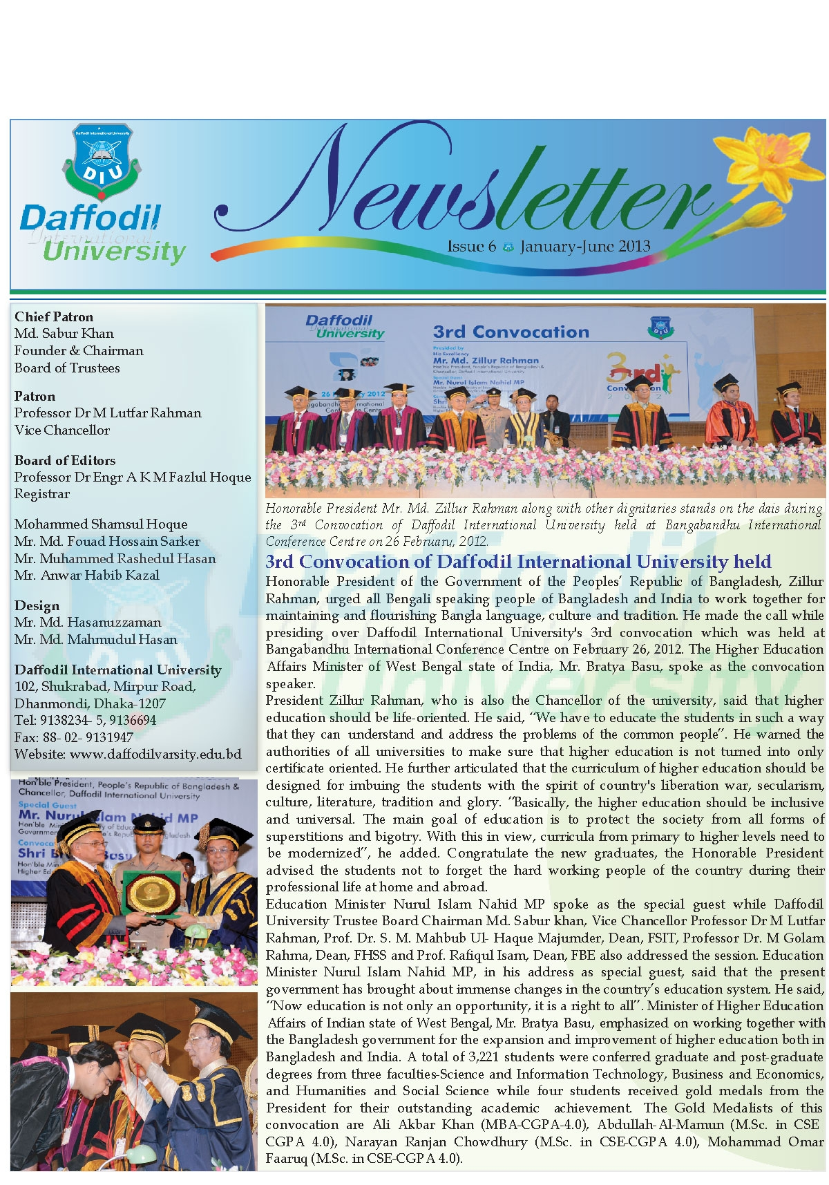 DIU Newsletter Issue 6