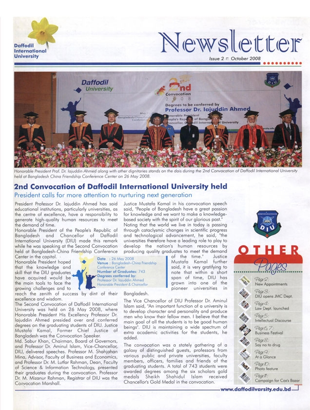 DIU Newsletter Issue 2